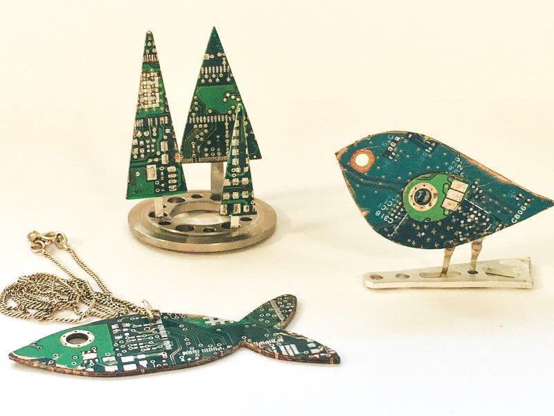 circuit-boards-ornaments