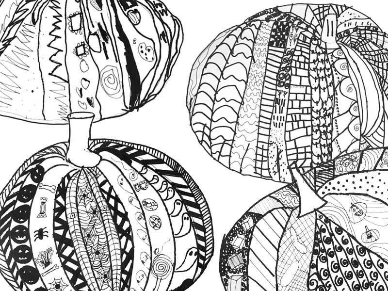 doodle-pumpkins