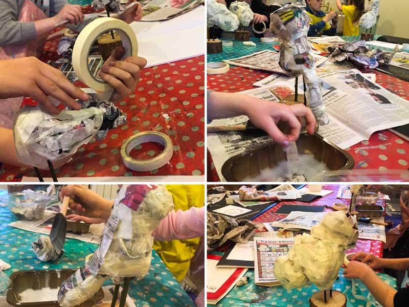 makingpaper-mache