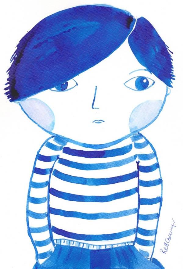 Little Boy Blue illustration ©Rachael Grainger