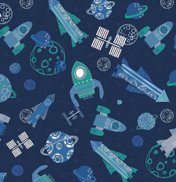 Space Fabric Design ©Rachael Grainger