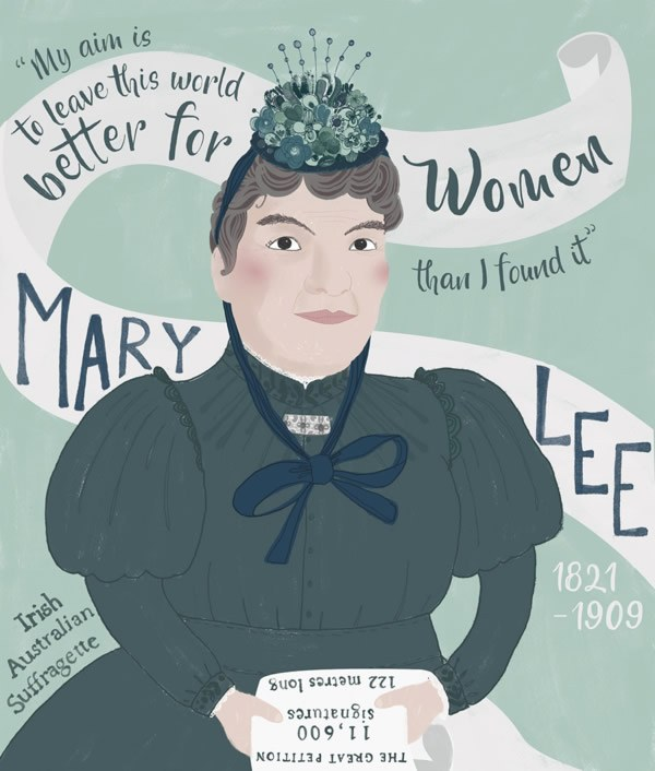 Mary Lee Suffragette ©Rachael Grainger