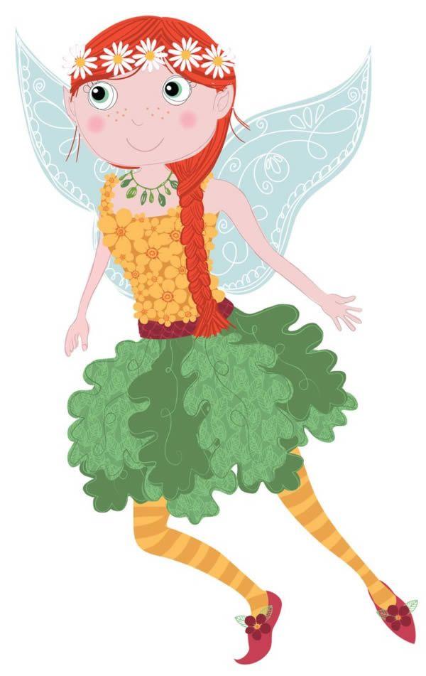 Fairy illustration ©Rachael Grainger