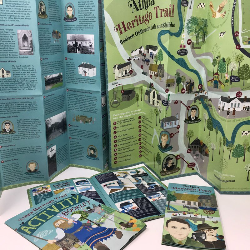 Athea Heritage Trail Illustrated by Rachael Grainger