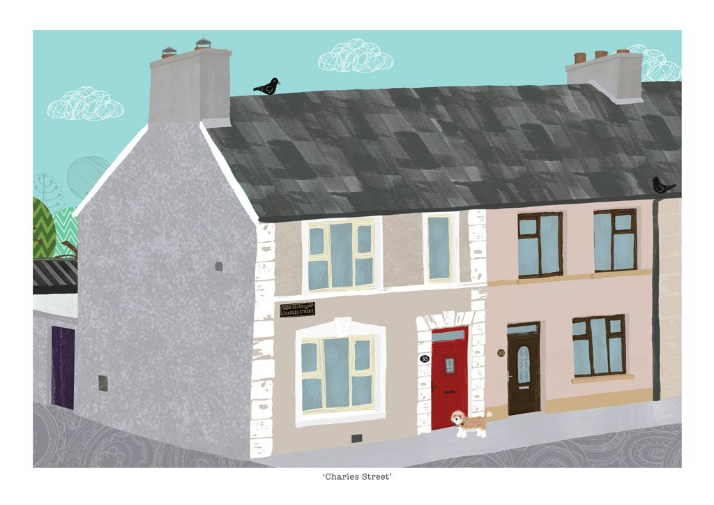 Terraced House portrait