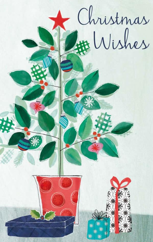 Christmas Tree Greeting Card ©Rachael Grainger